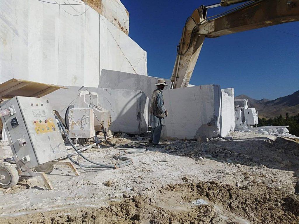 ranzikhail quarry excavator